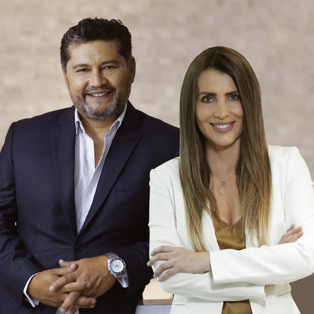 Freddy paredes y Maria del Carmen Alvarez notimundo estelar fmmundo