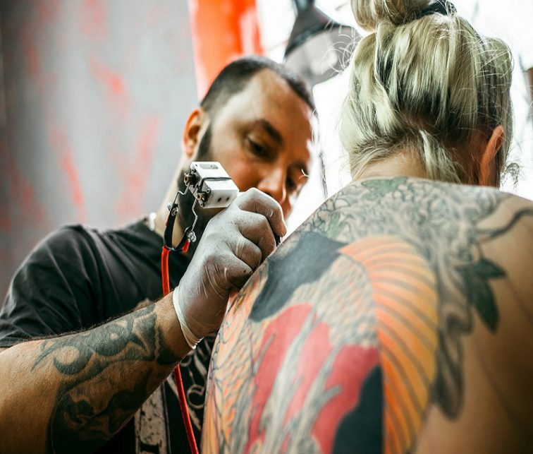 tatuajes en la piel, colores, moda, diseño