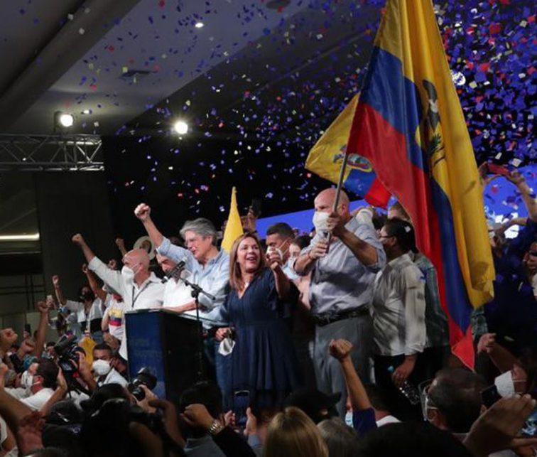 Guillermo Lasso, Elecciones Ecuador 2021, política Ecuador, resultados segunda vuelta, Fm Mundo