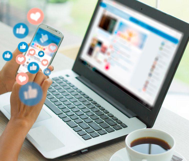 la realidad paralela de las redes sociales