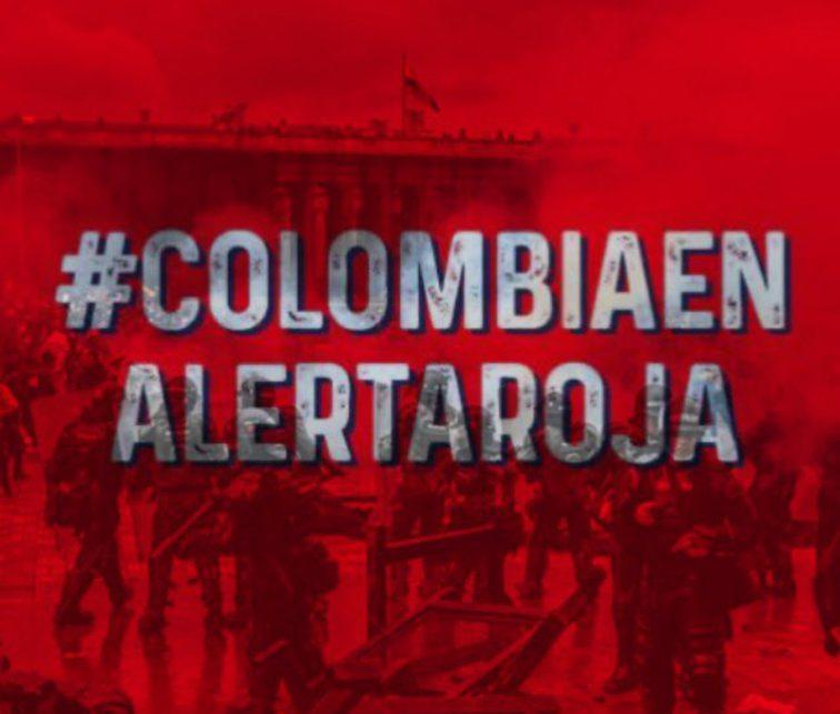 Protestas Colombia, Santiago Cruz, Fm Mundo