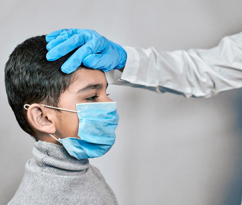 protocolo para tratar a niños con covid en casa