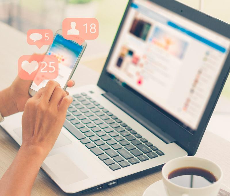 guia para postear en redes sociales