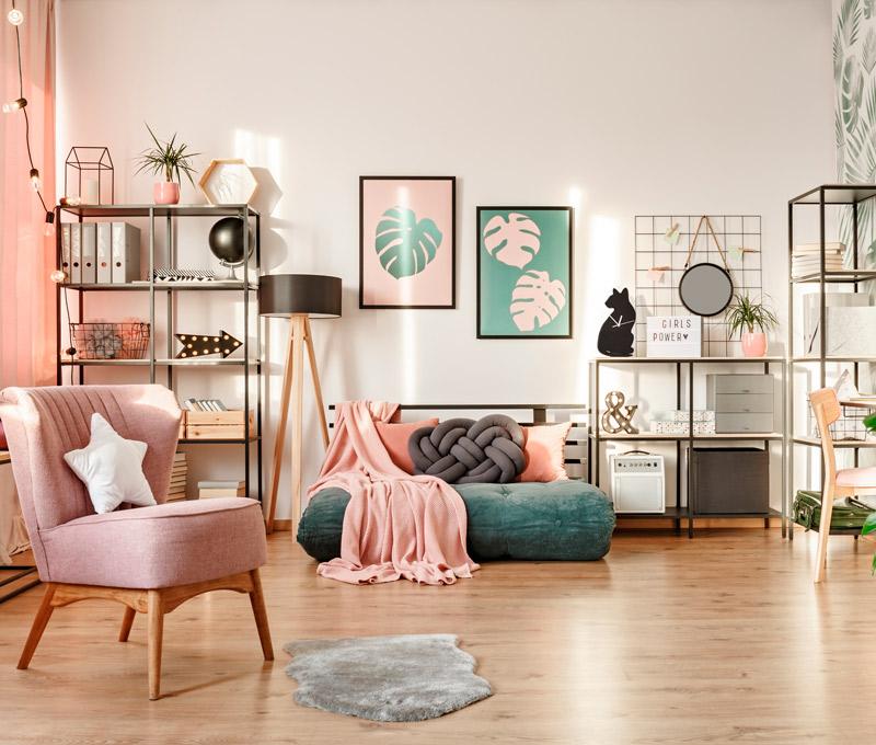como lograr impactar con el espacio de la decoracion